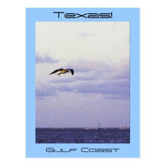 Cartão Postal Costa do golfo de Texas