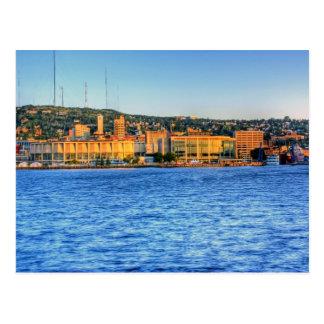Cartão Postal Costa do porto