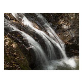 Cartão Postal Costa Rica, cachoeira de fluxo rápida