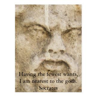 Cartão Postal COTAÇÃO de Socrates