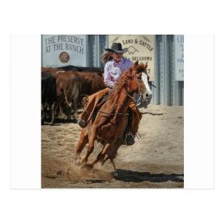 Cartão Postal cowgir