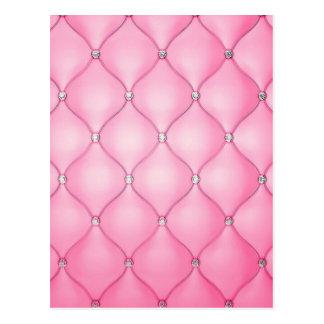Cartão Postal Coxim cor-de-rosa