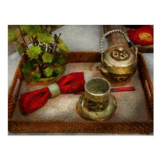 Cartão Postal Cozinha - cerimónia de chá formal