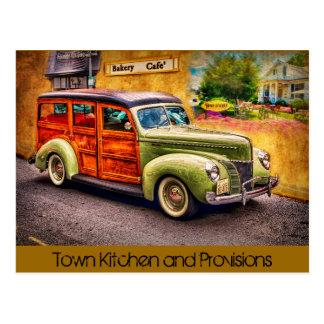 Cartão Postal Cozinha da cidade