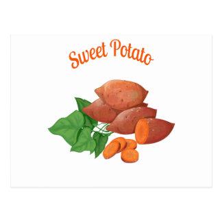 Cartão Postal Cozinhe um dia da batata doce - dia da apreciação