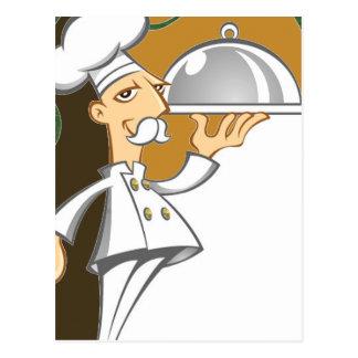 Cartão Postal Cozinheiro chefe