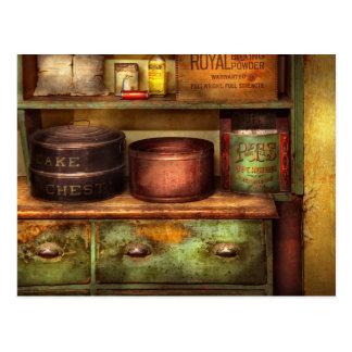 Cartão Postal Cozinheiro chefe - cozinha - comida - a caixa do