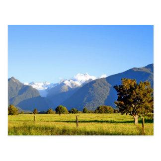 Cartão Postal Cozinheiro da montagem e montagem Tasman, Nova
