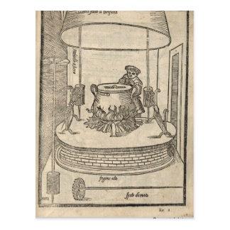 Cartão Postal Cozinheiro do renascimento