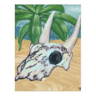 Cartão Postal Crânio do deserto