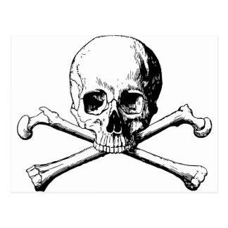 Cartão Postal Crânio dos Crossbones