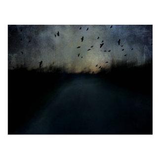 Cartão Postal Crepúsculo da textura