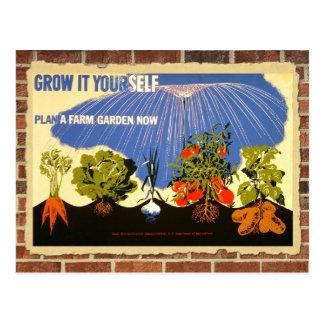 Cartão Postal Cresça seu próprio jardim - poster (a reprodução