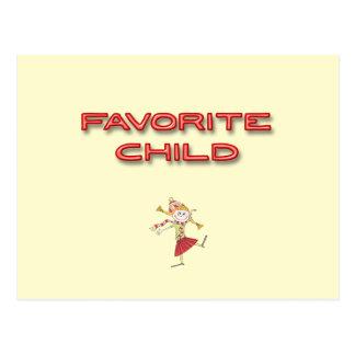 Cartão Postal Criança favorita