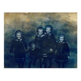 Cartão Postal Crianças de Romanov