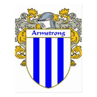 Cartão Postal Crista da brasão/família de Armstrong (envolvida)