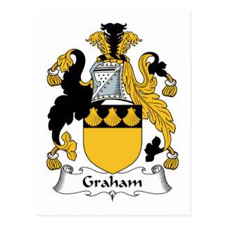 Cartão Postal Crista da família de Graham