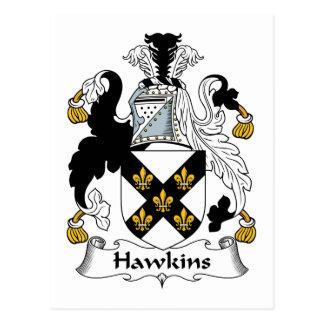 Cartão Postal Crista da família de Hawkins