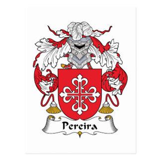 Cartão Postal Crista da família de Pereira
