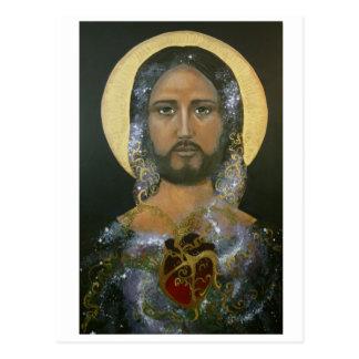 "Cartão Postal ""Cristo cósmico"" (c) 2015"