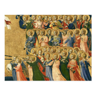 Cartão Postal Cristo glorificado na corte do céu