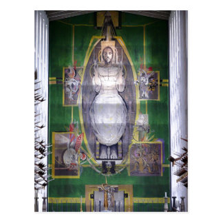 Cartão Postal Cristo na glória, torneira da descrição de Graham