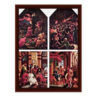 Cartão Postal Cristo no Monte das Oliveiras
