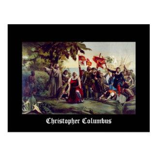 Cartão Postal Cristóvão Colombo