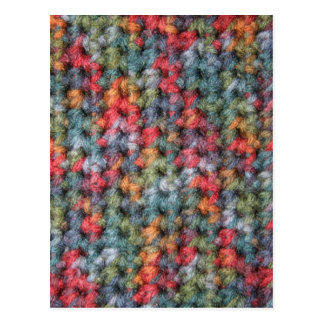Cartão Postal Crochet do tom da terra