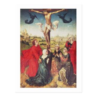Cartão Postal Crucificação, c.1510 (óleo no painel)