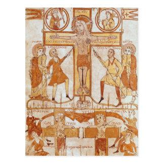 Cartão Postal Crucificação & divisão da roupa do