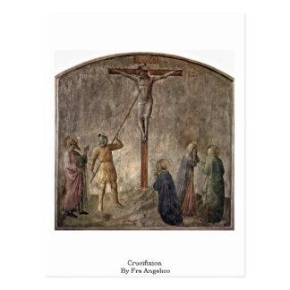 Cartão Postal Crucificação por Fra Angelico