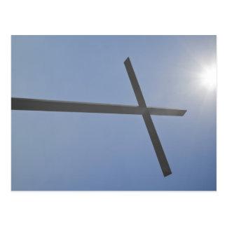 Cartão Postal Cruz cristã