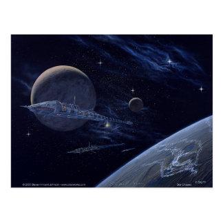 Cartão Postal Cruzadores da estrela