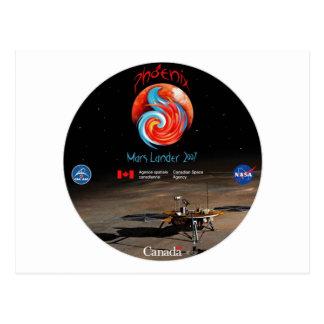 Cartão Postal CSA e o Lander de Phoenix
