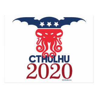 Cartão Postal Cthulhu para o presidente 2020