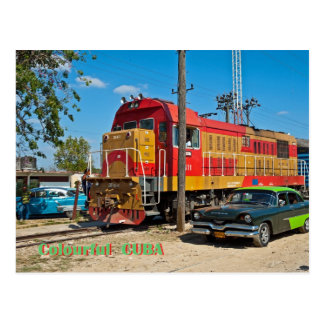 Cartão Postal Cuba colorida