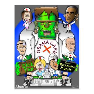 Cartão Postal Cuidado de Defund Obama