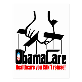 Cartão Postal Cuidado de Obama: Cuidados médicos que você não