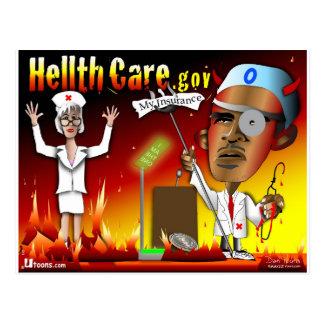 Cartão Postal Cuidado do Hellth do diabo