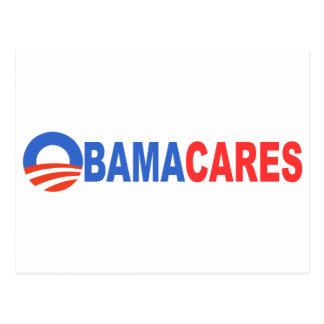 Cartão Postal Cuidados de Obama