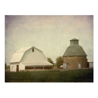 Cartão Postal Cultivo de Iowa