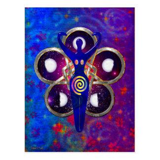Cartão Postal Culto da deusa dos ciclos 3D