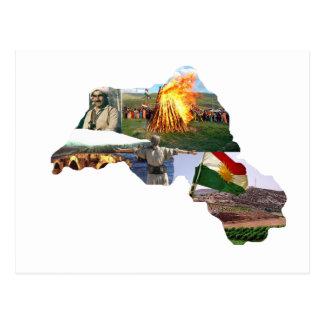Cartão Postal cultura do kurdistan
