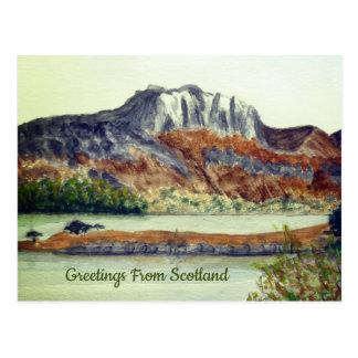Cartão Postal Cumprimento de Ireland