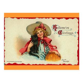 Cartão Postal Cumprimentos 2 do Dia das Bruxas