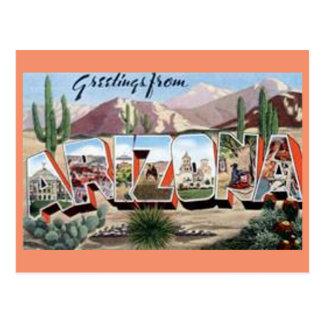 Cartão Postal Cumprimentos da arizona
