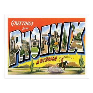 Cartão Postal Cumprimentos da arizona de Phoenix da cidade dos