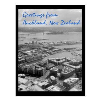 Cartão Postal Cumprimentos da cidade de Auckland, Nova Zelândia