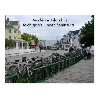 Cartão Postal Cumprimentos da ilha de Mackinac.